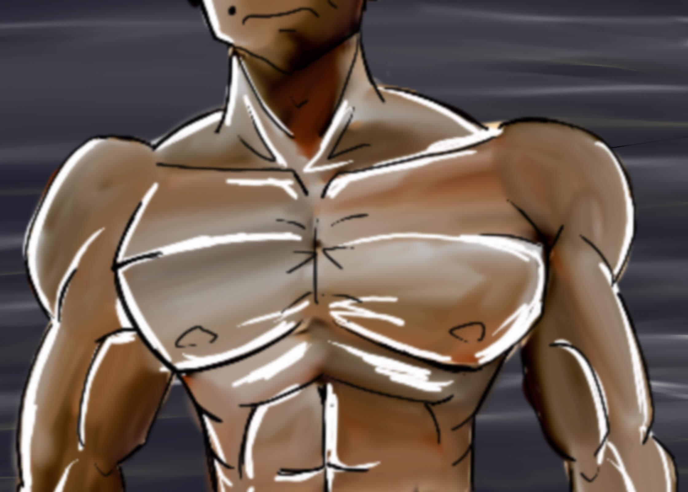 チェストプレスマシンで立体的胸板を作る【筋トレマシンの使い方】