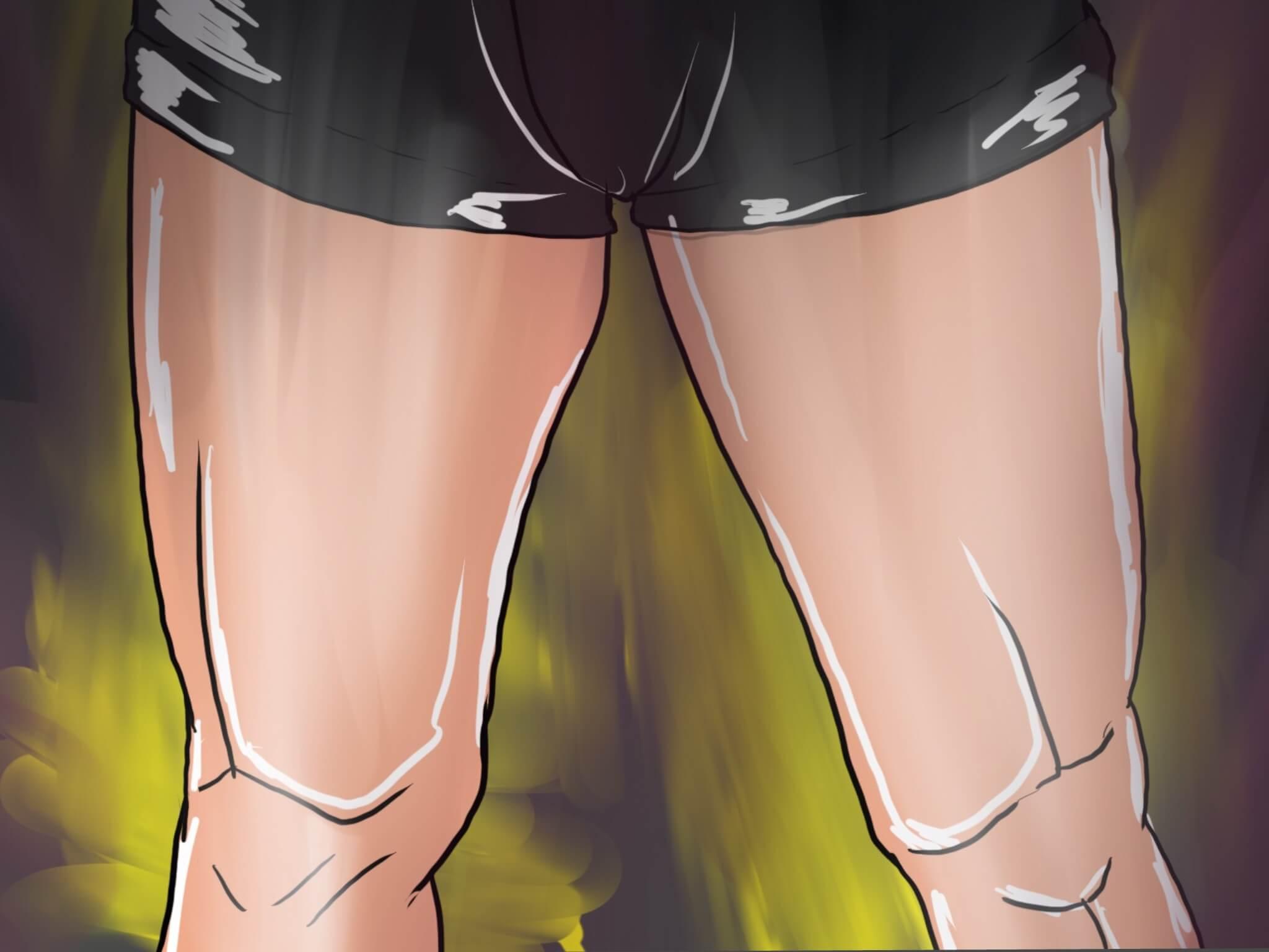 【徹底図解】フロントランジを押さえて自宅で立体感のある脚を!
