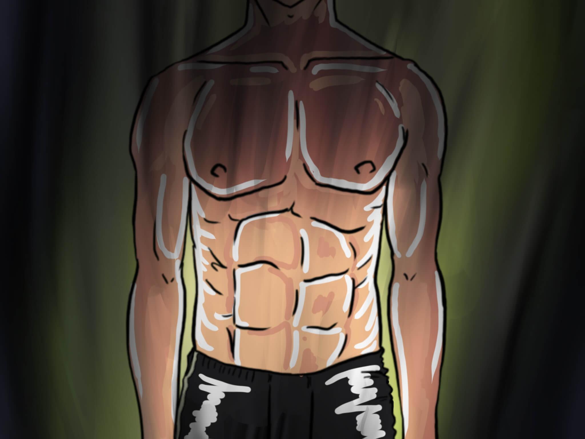 【徹底図解】腹圧呼吸で引き締め効果!呼吸改善で体幹引締め!